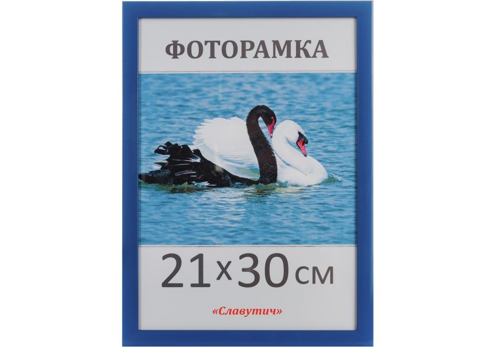 Купить Фоторамка А4, 21*30, синяя, $Цена Фоторамка А4, 21*30, синяя ⚡Интернет магазин Папирус