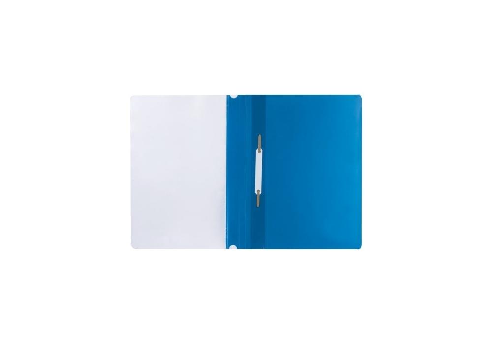 Папка-скоросшиватель жёлтая ф.А4 с европланкой 130/180 мкр 319/03