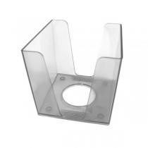 Подставка под бумагу для заметок TM Economix, прозрачная