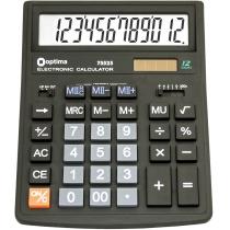 Калькулятор настольный бухгалтерский Optima O75525