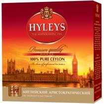 Чай Hyleys Англійський аристократичний, чорний, 2г, 100шт, фільтр пакет