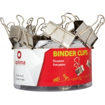 Біндери для паперу Optima, 41 мм, 24 шт