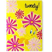"""Блокнот """"Tweety """" А5 48 л., желтый"""