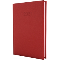 Ежедневник датированный 2019, SAND, красный, А5