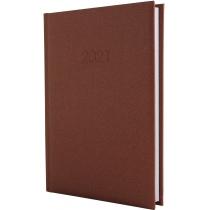 Ежедневник датированный 2017, SAND, коричневый, А5