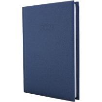 Ежедневник датированный 2019, SAND, темно-синий, А5