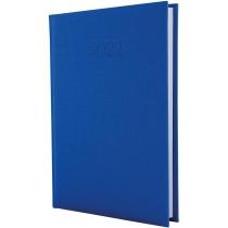 Ежедневник датированный 2017, CAPYS, синий, А5