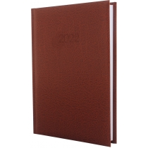 Ежедневник датированный 2019,  SAHARA, коричневый, А5