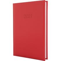 Ежедневник датированный 2017, SAMBA, красный, А5
