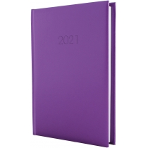 Ежедневник датированный 2017, SAMBA, фиолетовый, А5