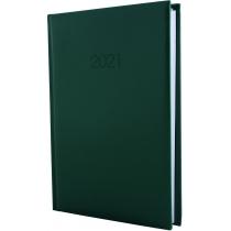Ежедневник датированный 2017, SAMBA, темно-зеленый, А5