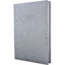 Ежедневник датированный, GALLAXY, серебро, А5