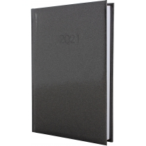 Ежедневник датированный, GALLAXY, темно-серый, А5