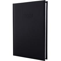Ежедневник датированный 2020 ALGORA, черный, А5
