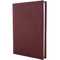 Ежедневник датированный 2020 ALGORA, бордо, А5