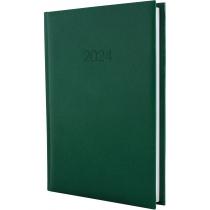 Ежедневник датированный 2017, PRINCIPE, зеленый, А5