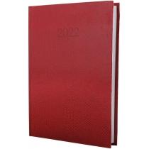 Ежедневник датированный 2021, SNAKE (ЗМЕЯ), красный, А5