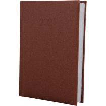 Ежедневник датированный 2019, SAND, коричневый, А6