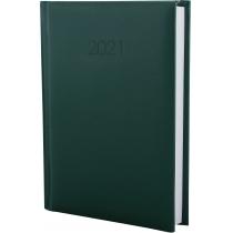 Ежедневник датированный 2017, SAMBA, темно-зеленый, А6