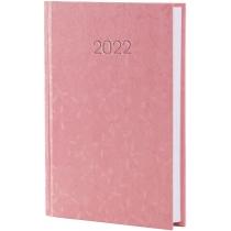 Ежедневник датированный 2019, КВІТИ, розовый, А6,