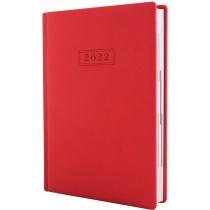 Ежедневник датированный 2020, MAGIC, красный, А5