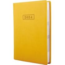 Ежедневник датированный 2019, VIVELLA , желтый, А5