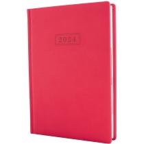 Ежедневник датированный 2020, VIVELLA , розовый, А5