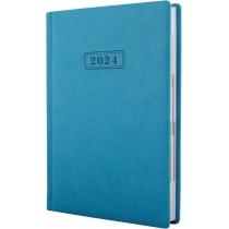 Ежедневник датированный 2020, VIVELLA , бирюзовый, А5