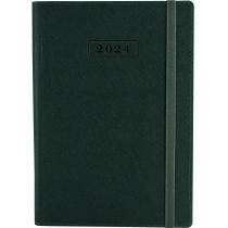 Ежедневник датированный 2020, CROSS , зеленый, А5, мягкая обложка с резинкой