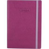 Ежедневник датированный 2020, CROSS , сиреневый, А5, мягкая обложка с резинкой