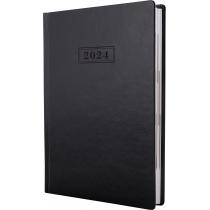 Ежедневник датированный, NEBRASKA , черный, А5, обложка без паролона