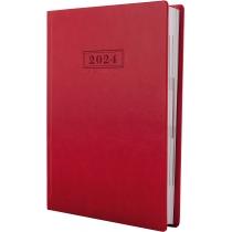 Ежедневник датированный, NEBRASKA , красный, А5, обложка без паролона