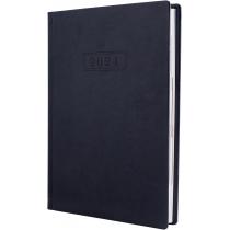 Ежедневник датированный, NEBRASKA , т-синий, А5, обложка без паролона