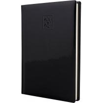 Ежедневник датированный 2020, VIVELLA LAK , черный, кремовый блок, А5