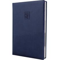 Ежедневник датированный 2020, VIVELLA LAK , синий, кремовый блок, А5