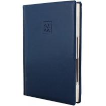 Ежедневник датированный 2019, CAPRICE, синий, кремовый блок, А5