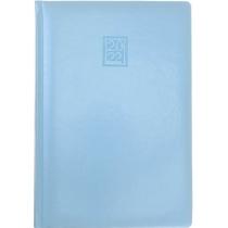 Ежедневник датированный 2020, CAPRICE, голубой, кремовый блок, А5