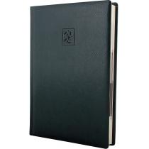 Ежедневник датированный 2020, LIZARD, зеленый, кремовый блок, А5