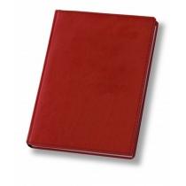 Ежедневник датированный 2019, А4, NEBRASKA, красный, А4, кремовый блок