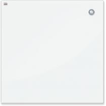 Дошка скляна магнітна для письма маркером, білий колір ,60х80 см.