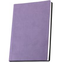 Деловая записная книжка А6 , Vivella , цвет обложки - сиреневый