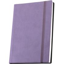Діловий записник Vivella А5, на гумці, бузковий