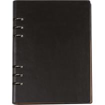 Бізнес-організатор, 185 *235 мм, на кільцях, чорний, папір 80 г/м2, кремовий