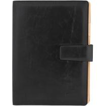 Бізнес-організатор, 185*235 мм, на кільцях, чорний, папір 80 г/м2, кремовий