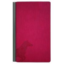 Блокнот с металлической планкой 100 * 180 мм, бумага 80 г/м2, кремовый, четыре цвета обложки (