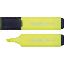 Маркер текстовыделитель OPTIMA 1-4 мм, желтый