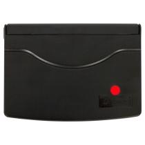 Подушка штемпельная настольная 70х110 мм, красная
