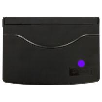 Подушка штемпельна настільна 70х110 мм, фіолетова