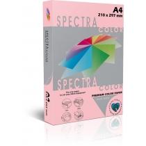 Бумага цветная SINAR SPECTRA, А4, 160 г/м2, 250 л, пастель, розовая