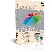 Бумага цветная SINAR SPECTRA, А4, 160 г/м2, 250 л, пастель, слоновая кость